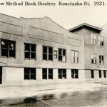 New Method Book Bindery Kosciusko 1931
