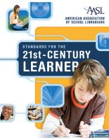 AASL Learning Standards