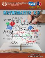 Common Core Mathematics K-6 (PDF)