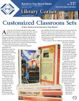 Library Corner – Fall 2014