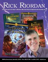 Rick Riordan (PDF)