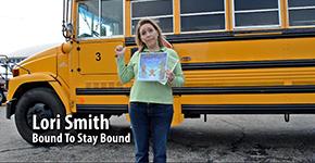 BTSB books face the school bus.
