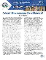 Library Corner – Spring 2015 (PDF)