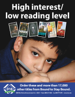 High Interest, Low Reading Level (PDF)