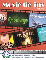 Movie Tie Ins Fall 2015