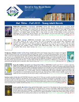Hot Titles – Young Adult Novels
