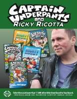 Captain Underpants and Ricky Ricotta