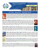 Hot Titles – Young Adult Novels (PDF)