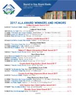 ALA Award Winners 2017 (PDF)