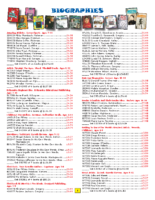 Biographies Brochure Fall 2017