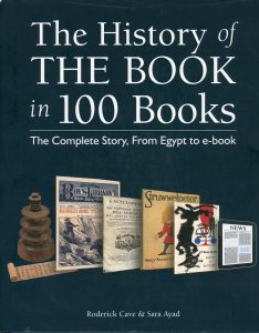 History of the Book in 100 Books cover