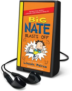 big nate playaway blasts off