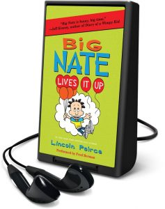 big nate playaway lives it up