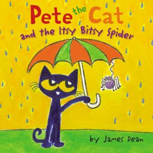 264736 pete the cat and the itsy bitsy spider