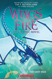 9780545942201 wings of fire the graphic novel book two lost heir