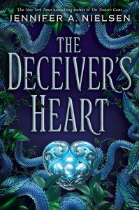 9781338045413 deceiver's heart