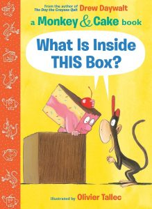 9781338143867 a monkey and cake book what is inside this box