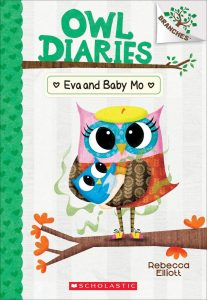 9781338298574 owl diaries eva and baby mo