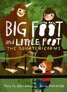 9781419733642 big foot and little foot