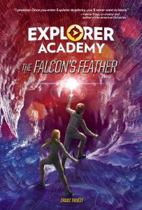 9781426333040 explorer academy the falcon's feather a novel