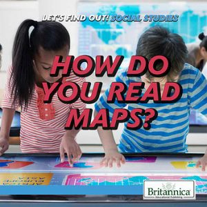 9781508107019 let's find out social studies read maps