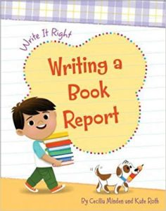 9781534142831 write it right writing a book report