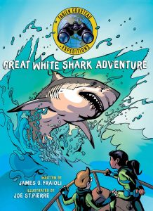 9781534420878 fabien cousteau expeditions great white shark