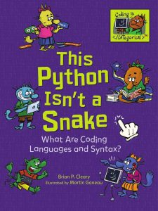 9781541533066 coding is categorical this python isn't a snake