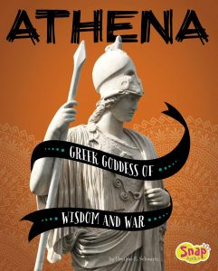 9781543554526 snap books athena greek goddess of wisdom and war