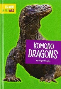 9781681515595 lizards in the wild komodo dragons