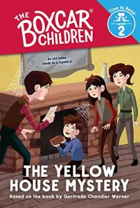 boxcar children time to read yellow house