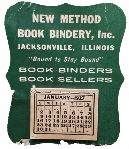1927 mini calendar