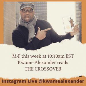 Kwame Alexander Instagram Live