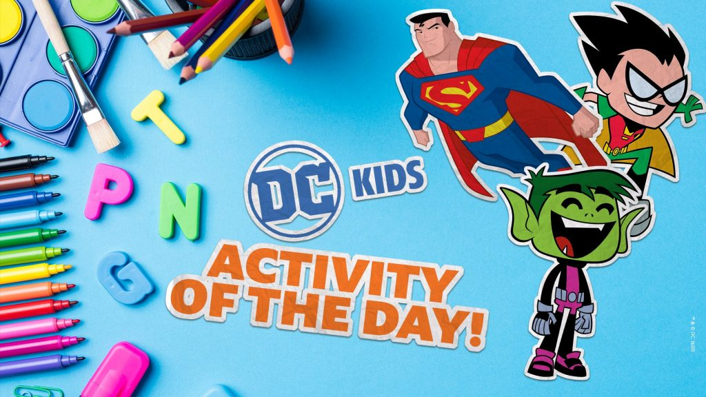 DC Kids Activity of the Day Web Page