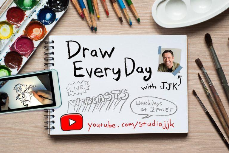 JJK Draw Everyday Live Webcasts YouTube