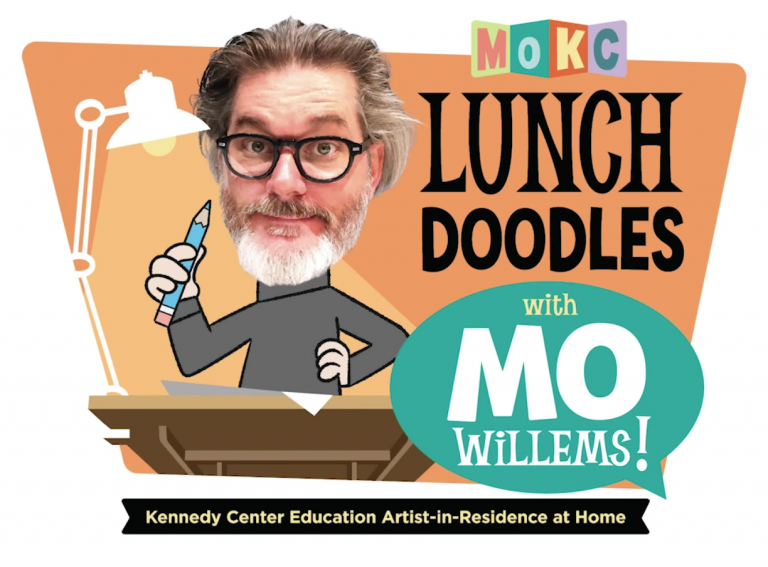 Lunch Doodles With Mo Willems Graphic