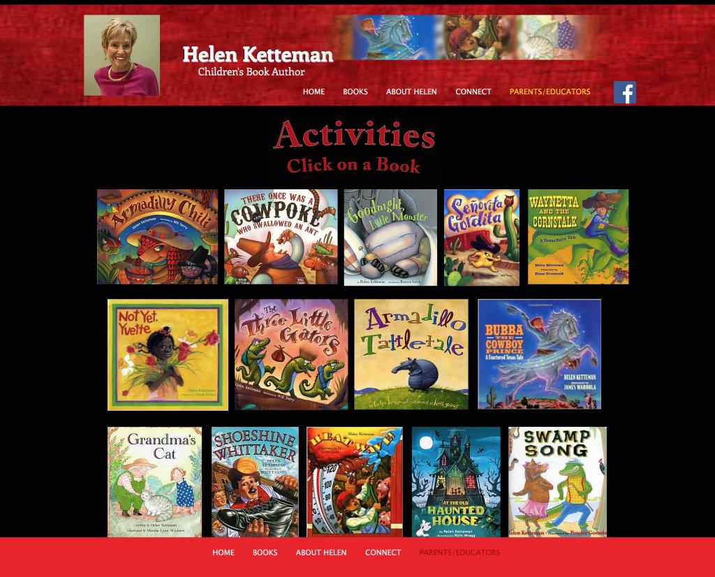 Helen Ketteman Web Site