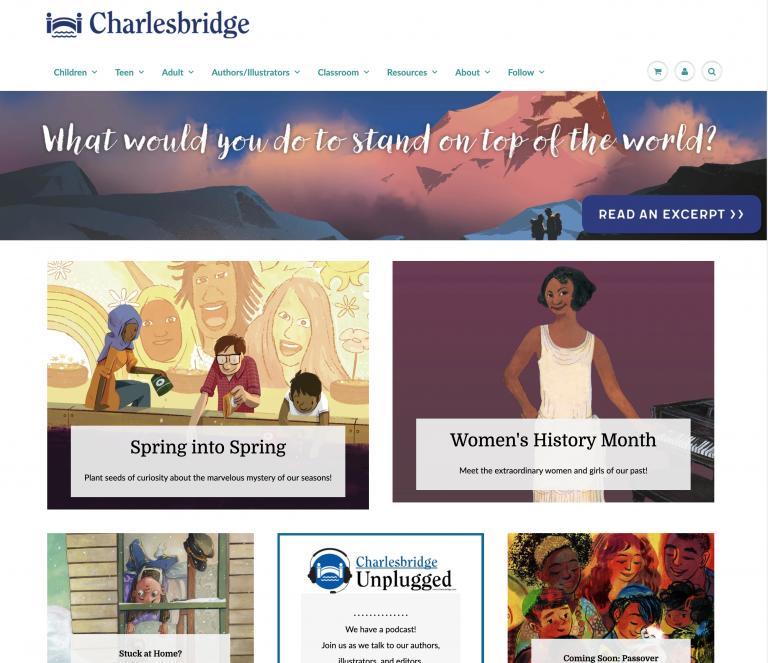 Charlesbridge Web Site
