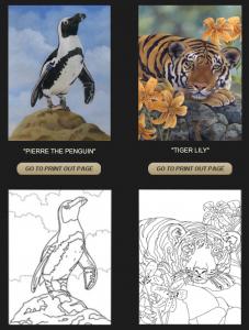 Laura Regan Coloring Pages Web Site