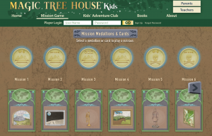 Magic Tree House Mission Game