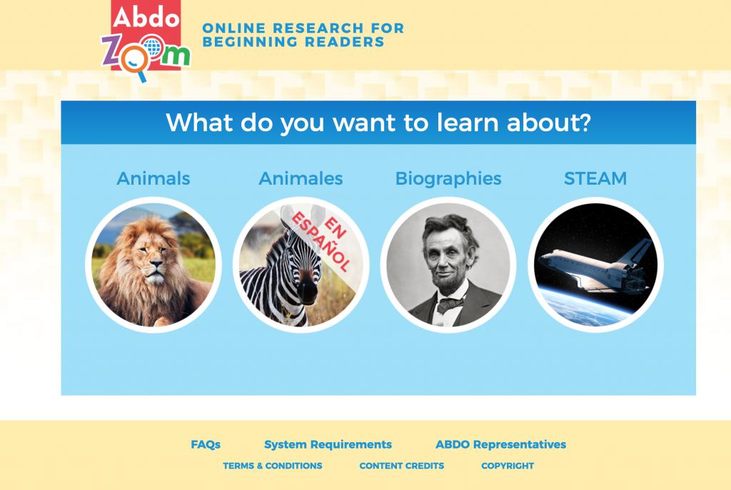 Abdo Zoom Web Page