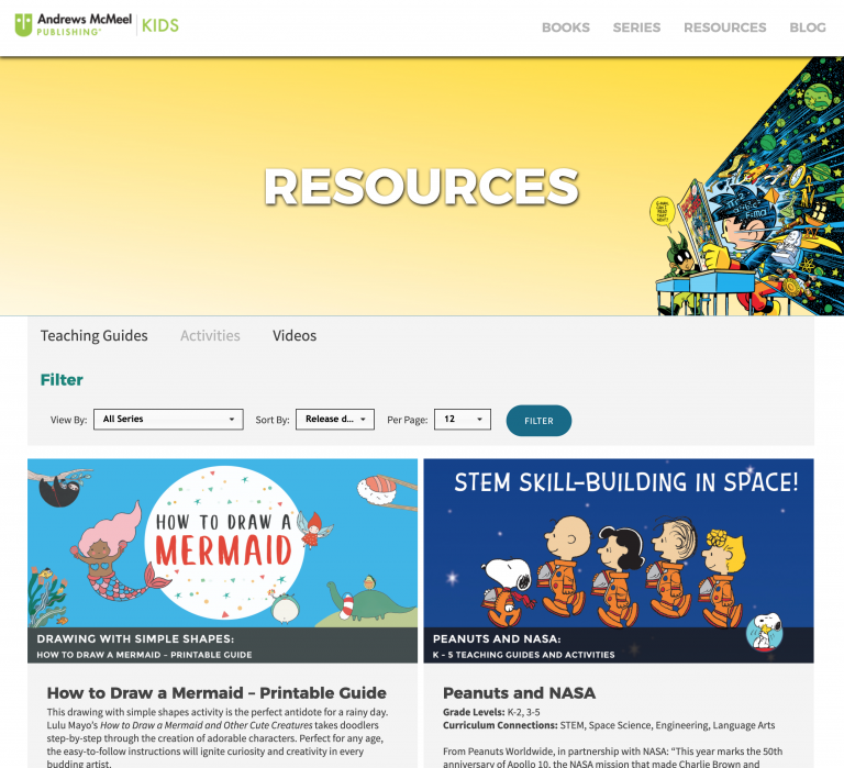 Andrews McMeel Publishing Kids Resources