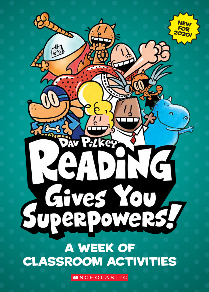 Dav Pilkey Week of Classroom Activities