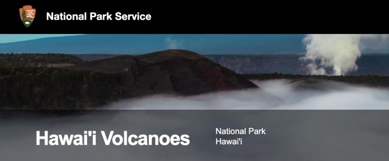 National Park Service Hawai'i Volcanoes