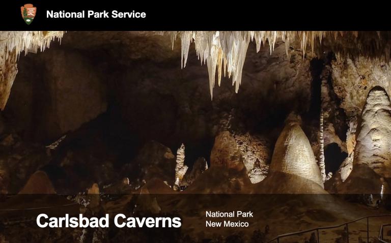 National Park Service Carlsbad Caverns