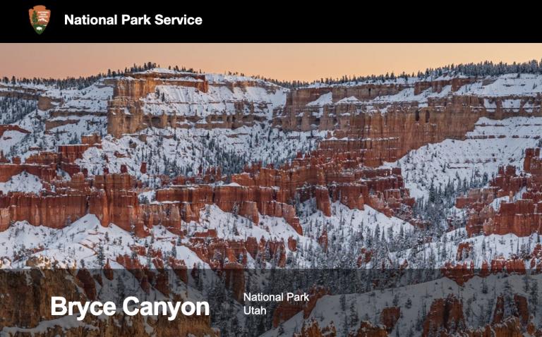 National Park Service Bryce Canyon