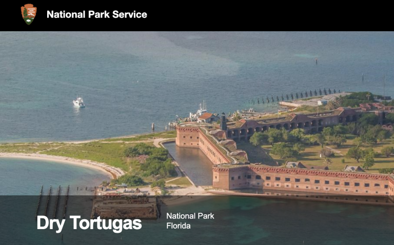 National Park Service Dry Tortugas