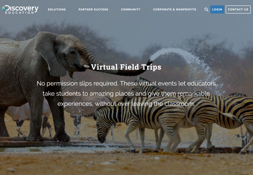 Discovery Education Virtual Field Trips