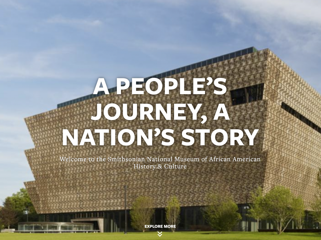 National Museum of African American History and Culture PHOTO