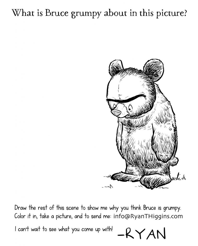 Ryan T Higgins Grumpy Bear